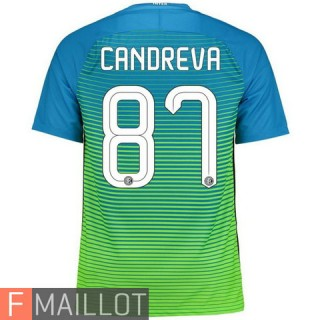 Candreva Inter Milan Maillot Third 2016/2017
