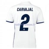 Carvajal Real Madrid Maillot Domicile 2016/2017