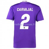 Carvajal Real Madrid Maillot Exterieur 2016/2017