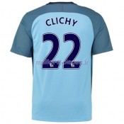 Clichy Manchester City Maillot Domicile 2016/2017
