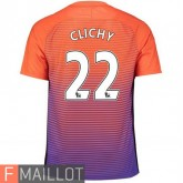 Clichy Manchester City Maillot Third 2016/2017