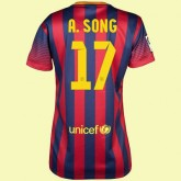 Commander Maillot Foot Femme Barcelone (Alex Song 17) 15/16 Domicile Nike Hot Sale