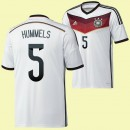 Commander Maillot Foot (Hummels 5) Allemagne 2014 World Cup Domicile Adidas Prix Vente En Ligne