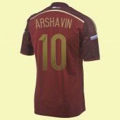 Commander Maillots (Arshavin 10) Russie 2014 World Cup Domicile Adidas Personnalisé Collection