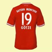 Creer Maillot Bayern Munich (Gotze 19) 15/16 Domicile Adidas Soldes Avignon