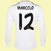 Creer Maillot De Foot Manches Longues (Marcelo 12) Real Madrid 2015/16 Domicile Adidas Prix Site Officiel