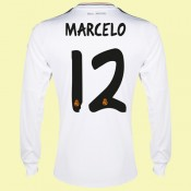 Creer Maillot De Foot Manches Longues (Marcelo 12) Real Madrid 2015/16 Domicile Adidas Prix Site Officiel