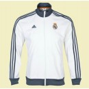 Creer Veste De Football Real Madrid Fc 2014 2015 Blanc Retro #3163 Pas Cher Nice
