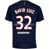 David Luiz Paris Saint Germain Maillot Domicile 2016/2017
