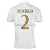 De Sciglio AC Milan Maillot Exterieur 2016/2017
