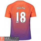 Delph Manchester City Maillot Third 2016/2017