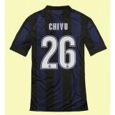 Dessin Maillot De (Chivu 26) Inter Milan 2014 2015 Domicile Fiable