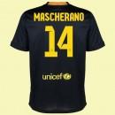 Dessin Maillot Fc Barcelone (Javier Mascherano 14) 15/16 3rd Nike Pas Cher Lyon