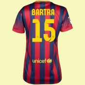 Dessin Maillot Foot Femme (Marc Bartra 15) Barcelone 2014 2015 Domicile Fashion Show
