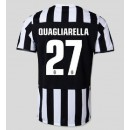 Dessin Maillots (Quagliarella 27) Juventus 2014 2015 Domicile Rabais Paris