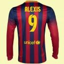 Destockage Maillot De Football Manches Longues Fc Barcelone (Alexis Sanchez 9) 15/16 Domicile Nike Soldes Alsace