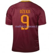 Dzeko As Roma Maillot Domicile 2016/2017