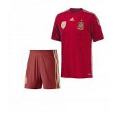 Espagne Maillot De Football Domicile Coupe Du Monde 2014 Adidas+Shorts Authentique