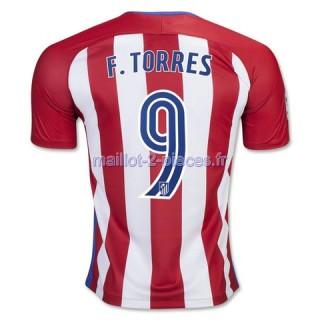 F.Torres Atletico Madrid Maillot Domicile 2016/2017