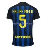 Felipe Melo Inter Milan Maillot Domicile 2016/2017
