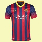Flocage Maillot De Foot Barcelone 2014 2015 Domicile Nike En Ligne Hot Sale