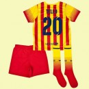 Flocage Maillot De Foot Juniors (Tello 20) Barcelone 2014 2015 Extérieur Nike Avec Flocage Officiel Soldes Lyon