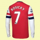 Flocage Maillot Du Foot Manches Longues Arsenal (Rosicky 7) 15/16 Domicile Nike Hot Sale