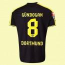 Flocage Maillot (Gundogan 8) Dortmund 2014 2015 Extérieur Puma Pas Chére Faire Une Remise
