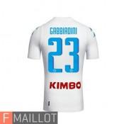 Gabbiadini Napoli Maillot Exterieur 2016/2017