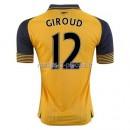 Giroud Arsenal Maillot Exterieur 2016/2017