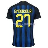 Gnoukouri Inter Milan Maillot Domicile 2016/2017