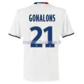 Gonalons Lyon Maillot Domicile 2016/2017