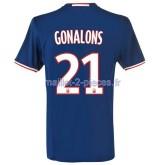 Gonalons Lyon Maillot Exterieur 2016/2017