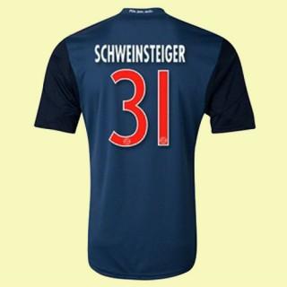 Grossiste Maillot De Foot (Schweinsteiger 31) Bayern Munich 2014 2015 3rd Adidas Soldes Pas Cher Provence