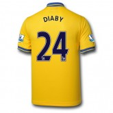Grossiste Maillot Foot Arsenal (Diaby 24) 15/16 Extérieur Nike