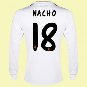 Grossiste Maillot Football Manches Longues (Nacho 18) Real Madrid 15/16 Domicile Catalogue