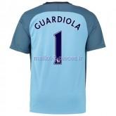 Guardiola Manchester City Maillot Domicile 2016/2017