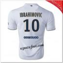Ibrahimovic 10 Maillot Paris Saint Germain Extérieur 2014 15 Hot Sale