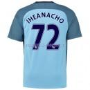 Iheanacho Manchester City Maillot Domicile 2016/2017