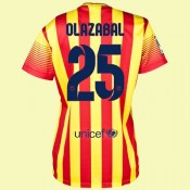 Jeu De Maillot De Foot Femme (Olazábal 25) Fc Barcelone 2014 2015 Extérieur Europe