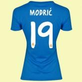 Jeu De Maillot De Foot Femmes Real Madrid Fc (Modric 19) 15/16 Extérieur Adidas
