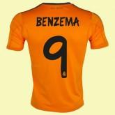 Jeu De Maillot Du Foot (Benzema 9) Real Madrid Fc 2014 2015 3rd Site Officiel
