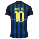Jovetic Inter Milan Maillot Domicile 2016/2017
