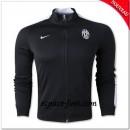 Juventus N98 Veste Noire Soldes Avignon