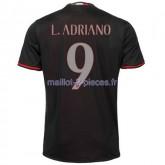 L.Adriano AC Milan Maillot Domicile 2016/2017