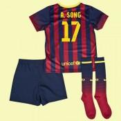 Le Nouveau Maillots Juniors (Alex Song 17) Fc Barcelone 2014 2015 Domicile Nike Floqué Boutique France