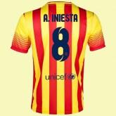 Les Nouveau Maillot De Fc Barcelone (Andres Iniesta 8) 15/16 Extérieur Nike Code Promo