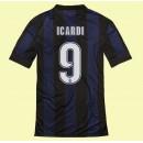 Les Nouveau Maillot Foot (Icardi 9) Inter Milan 2014 2015 Domicile