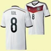 Les Nouveaux Maillot De Allemagne (?Zil 8) 2014 World Cup Domicile Adidas Prix
