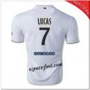 Lucas 7 Maillot Paris Saint Germain Extérieur 2014-15 Europe